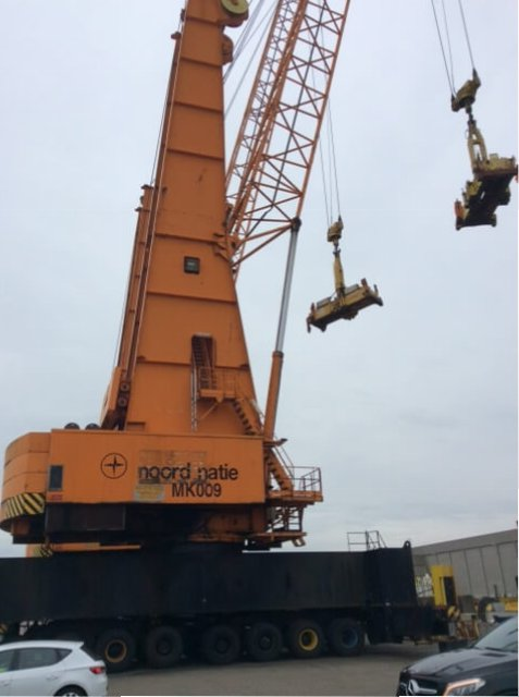 TE KOOP: 120 tons Gottwald