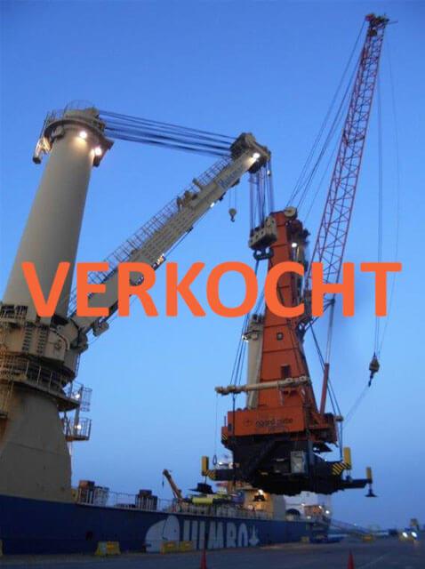 VERKOCHT: 120 tons Gottwald
